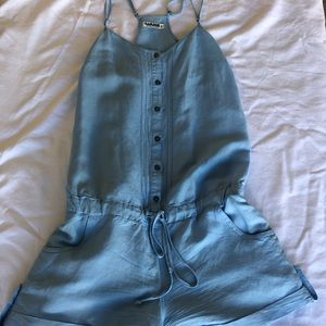 Cute and Comfortable Blue Romper